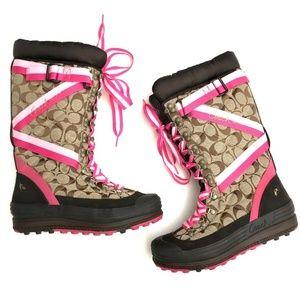 Coach Winter Snow Boots